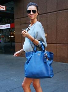 Miranda-Kerr-with-Her-Blue-Prada-Daino-Tote