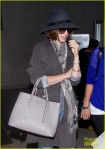 Lily Collins seen at LAX